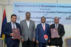 MoU signed for greater synergy between MCCF and AMB