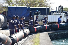 Government is taking necessary actions to contain oil spill from MV Wakashio