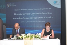 Private pension schemes FSC and APRA sign MoU for enhanced collaboration