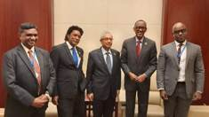 33rd Summit of African Union: Bilateral meetings of Prime Minister Jugnauth