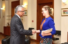 Australian High Commissioner to Mauritius discusses 50 years of diplomatic relations with Prime Minister
