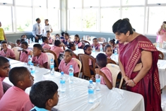 Hot meal project kicks off at Bois des Amourettes Government School