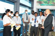 Novel Coronavirus: Health Minister takes stock of screening measures at airport
