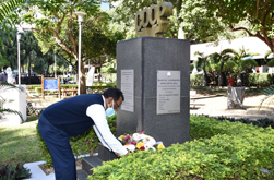 Wreath-laying ceremony to mark International Day of Cooperatives 2020