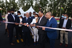 Inauguration of Wolmar Traffic Centre to the tune of Rs 12 million