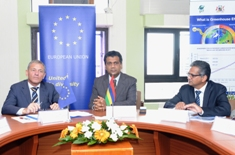 Fight against climate change : EU a privileged partner of Mauritius