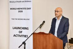 World Hepatitis Day: Government aims to trace, eradicate and eliminate Hepatitis in Mauritius, states Health Minister