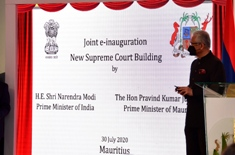 E-Inauguration of the new Supreme Court Building