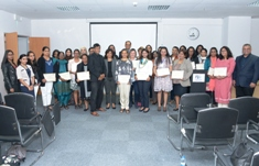 Participants in training programme on 'Women Empowerment on Boards' receive certificates