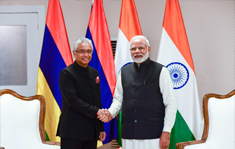PM Jugnauth congratulated by PM Modi for successfully controlling Covid-19 situation in Mauritius