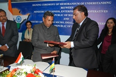 Mauritius and India Sign MoU to Strengthen Cooperation in SME Development