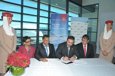 Air Mauritius and MTPA sign enhanced agreements with Emirates