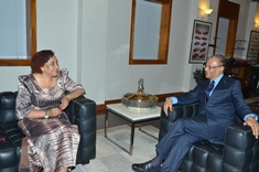 SADC Executive Secretary Calls on Prime Minister