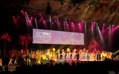 Football: 63rd FIFA Congress Opens in Rich Cultural Show of Mauritian Diversity