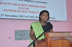 Public Officers Urged to Join Efforts to Tackle Gender-based Violence