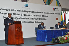 Business Forum to Strengthen Mauritius-Gabon Economic Cooperation