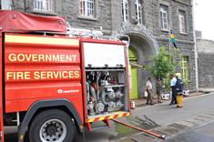 Central Prison Conducts Major Fire Simulation Exercise