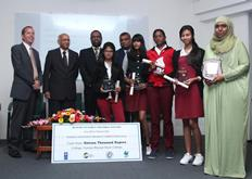 Prize Giving Ceremony for Winners of Energy Efficiency Competitions