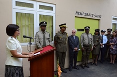 New Wing to House Suspected Pirates Inaugurated at Central Prison