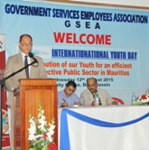 Trade Union marks International Youth Day with a workshop