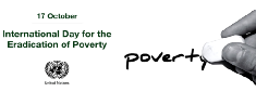 Awareness programme to mark International Day for the Eradication of Poverty 2015
