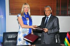 EU and Mauritius sign Financing Agreement worth Rs 80 million for Technical Cooperation Facility