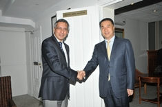 DPM Xavier Duval meets Vice Minister of Civil Aviation of China