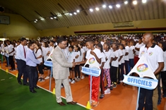 Youth and Sports Minister opens Jeux des Jeunes 2016