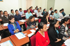 Induction course for a batch of 50 office care attendants/senior office care attendants