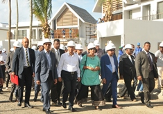 Mega infrastructural Projects poised to change socio-economic landscape of Mauritius, PM says