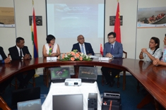 China donates IT equipment to further develop Mauritius's ocean economy