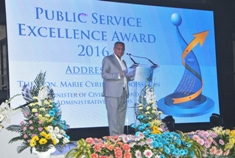 Two grand winners for Public Service Excellence Award 2016
