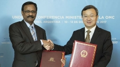 Mauritius – China Free Trade Agreement Signature of MoU to launch the negotiations