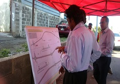 Mauritius first dedicated heavy vehicle lane to be built along Motorway M2