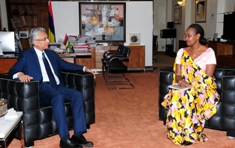 Mauritius and the UN pledge to continue existing collaboration