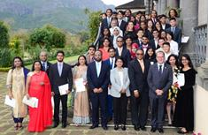 Duke of Edinburgh's: President hands over Gold Award badges to young Mauritians