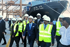 Mauritius Container Terminal is now a leading container port in the region, says PM