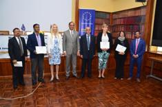 Beneficiaries receive grant under EU GCCA+ Flagship initiative to support Climate Smart Agriculture