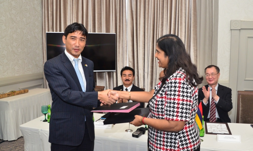 Mauritius-Japan: Record of Discussion signed to improve Meteorological Radar System