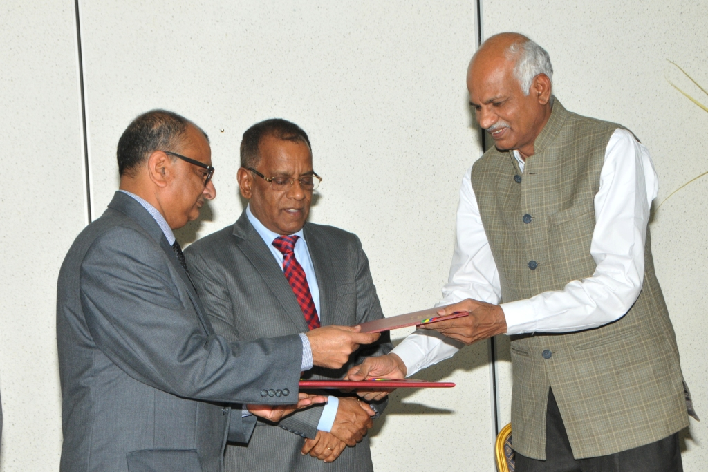 Mauritius-India: MoU signed to further strengthen cooperative sector