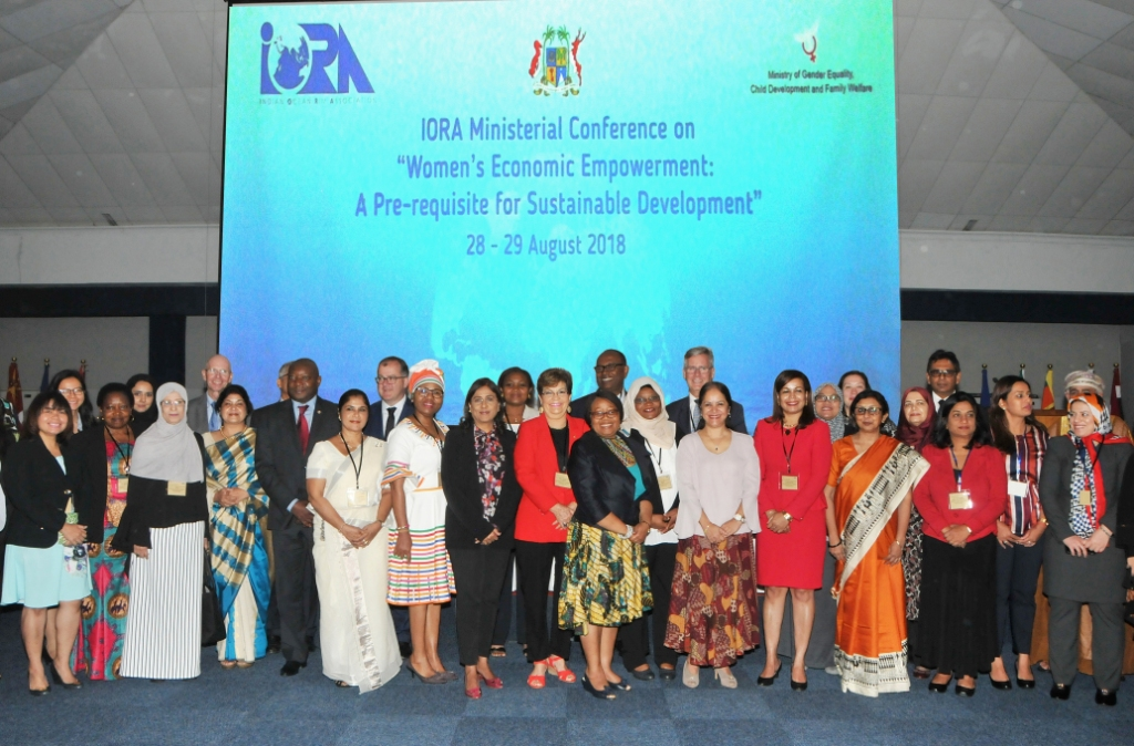 IORA's Ministerial Conference to finalise Working Group on Women's Economic Empowerment