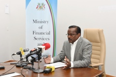 Minister Sesungkur highlights achievements of the financial services sector