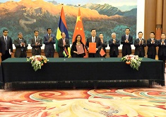 Mauritius-China MoU: to reinforce ties between the National Assembly and the National People's Congress