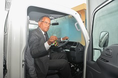 Acquisition of new refrigerated vehicle to boost milk production