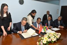 Bilateral relations: Mauritius and China sign MoU to promote MSMEs