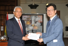 China contributes Rs 1 million to Prime Minister's Cyclone Relief Fund