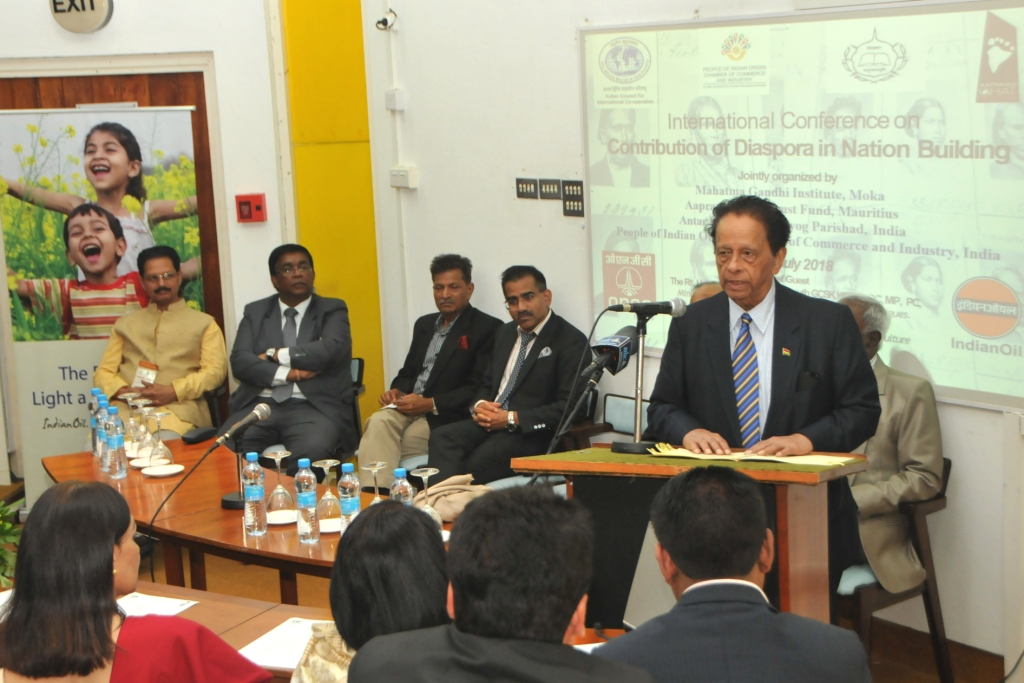 Mauritius hosts International conference on contribution of Indian Diaspora in nation building