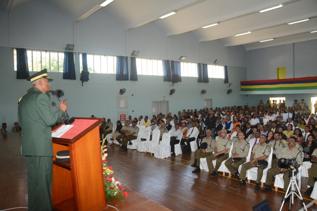Mauritius Prison Service recruits seventy-seven trainee Prisons officers