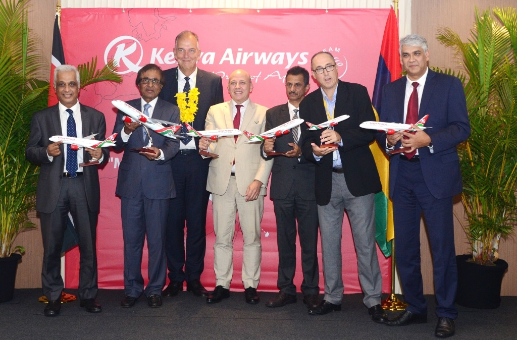 Kenya Airways launches direct flights to Mauritius