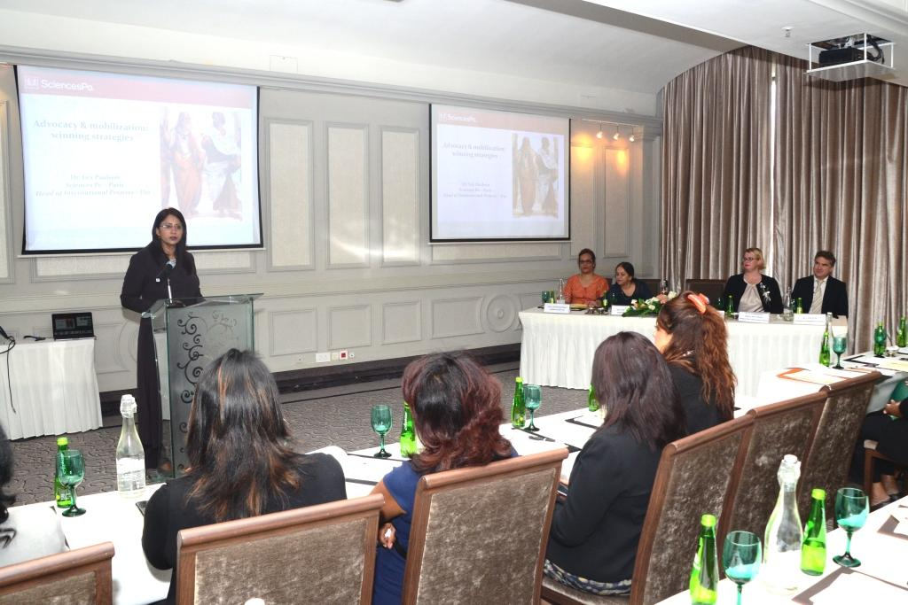 Minister Jadoo-Jaunbocus reiterates key role of women in Politics